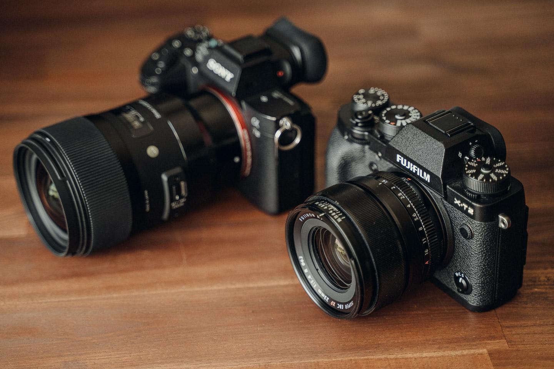 Vorteil APS-C Kamera