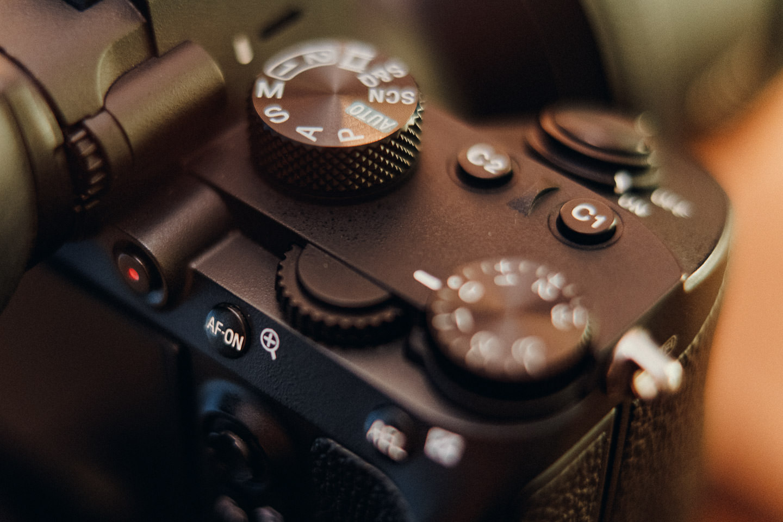 Kamera Fokus mit Back Button