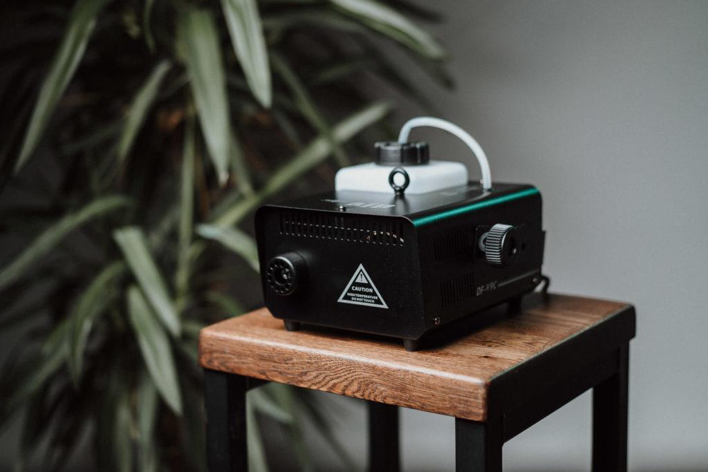 Fotografieren mit Nebelmaschine