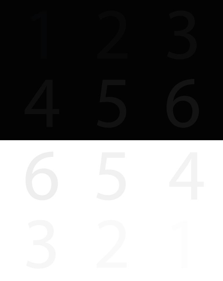 Bildschirm kalibrieren Testbild