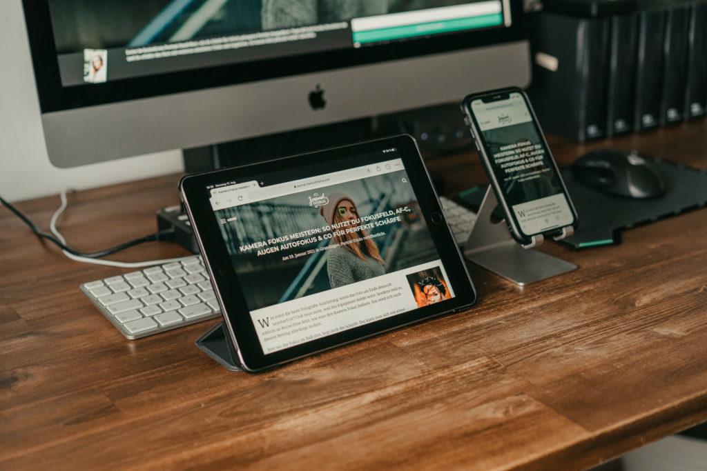 iMac unterschreiben per iPhone
